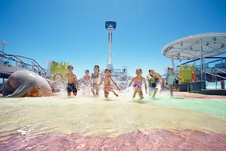 Baby Splash Zone on Anthem of the Seas