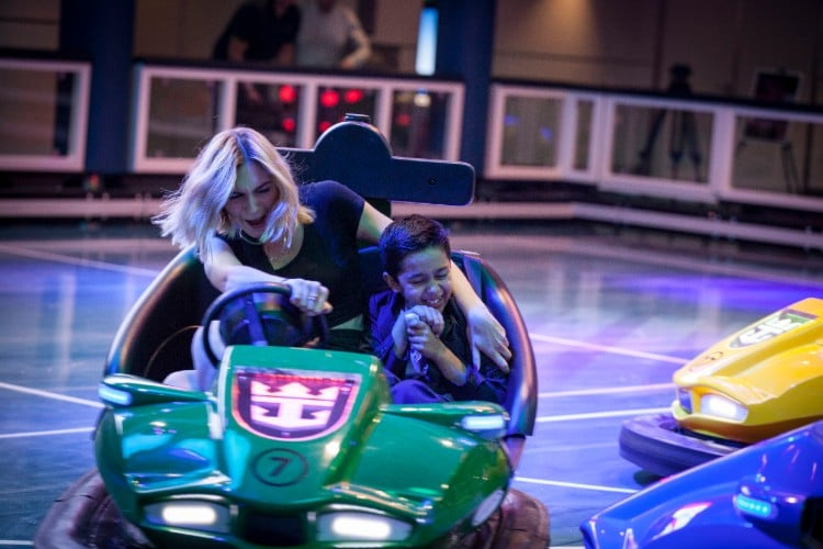 Royal Caribbean bumper cars