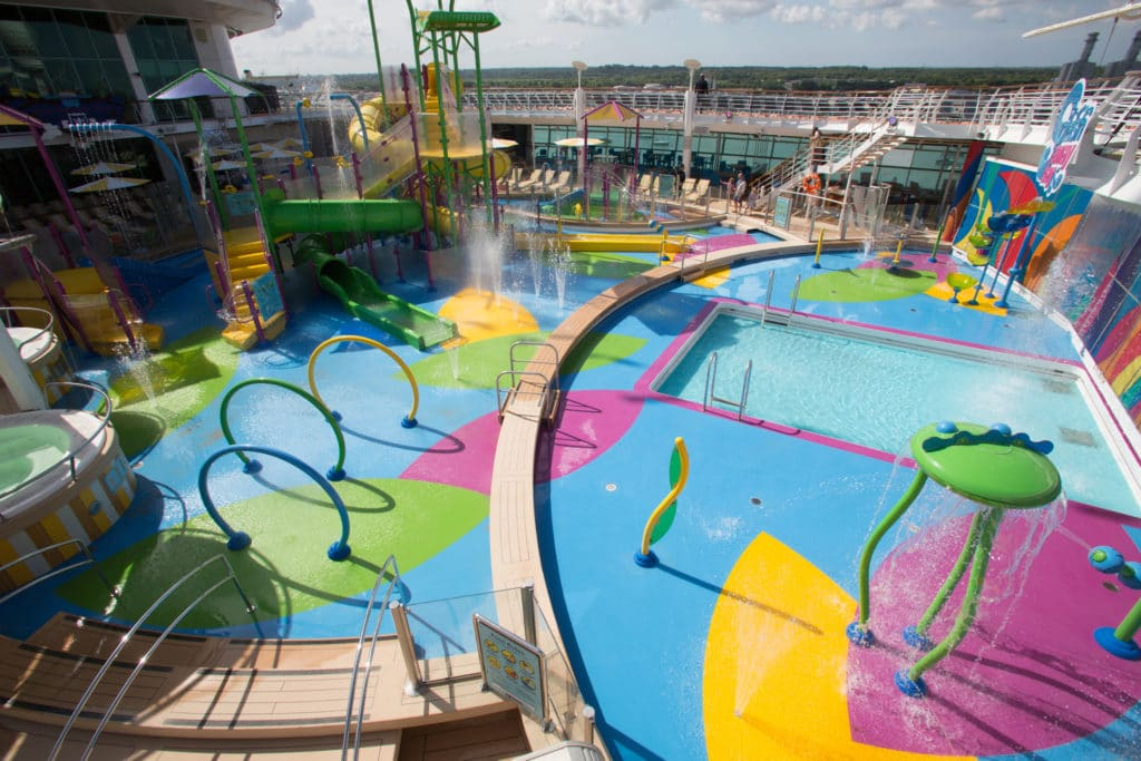 Splashaway Bay on Independence of the Seas