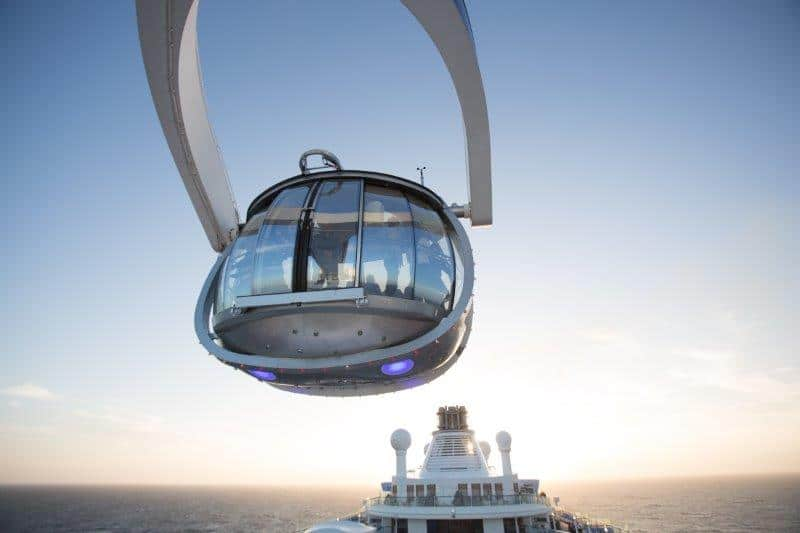 Observation pod on Anthem of the Seas