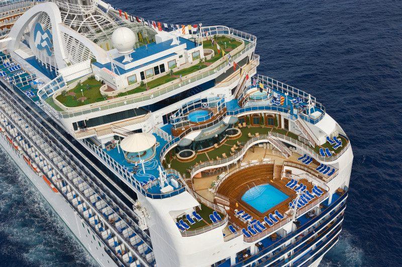 Crown Princess cruises from Southampton