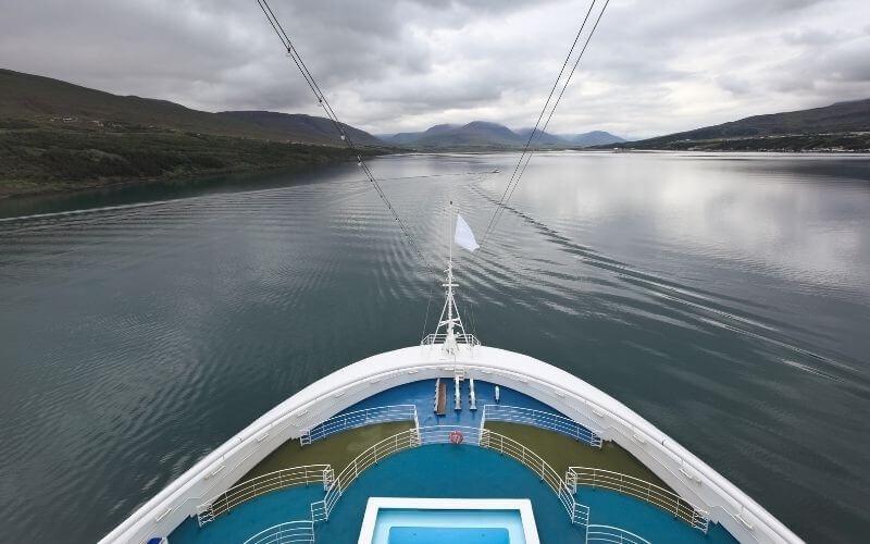 Akureyri cruise ship