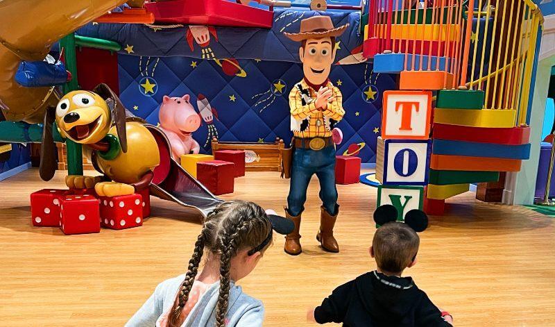 Woody in the Disney Magic Kids Club