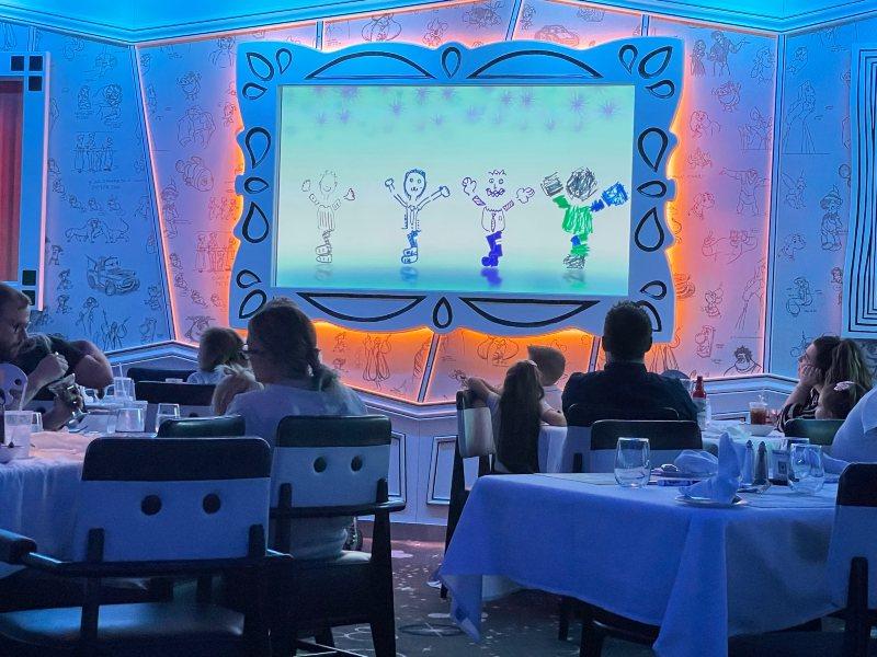 Disney Magic Animator's Palate Restaurant