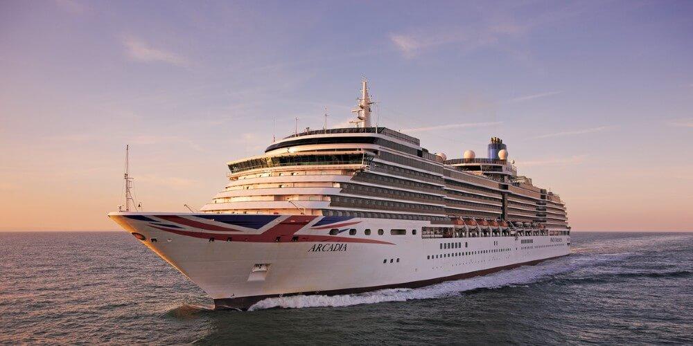 Arcadia P&O Cruises shruise ship