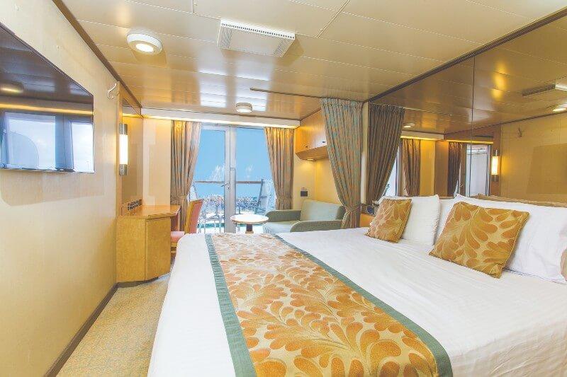 Arcadia Deluxe Balcony cabin