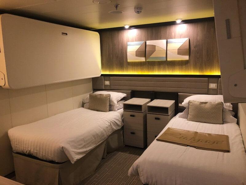 Inside cabin p&o cruises