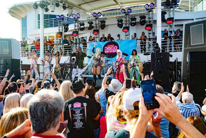 disco themed cruise