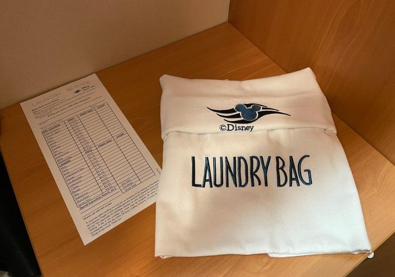 Disney Cruise Line laundry bag
