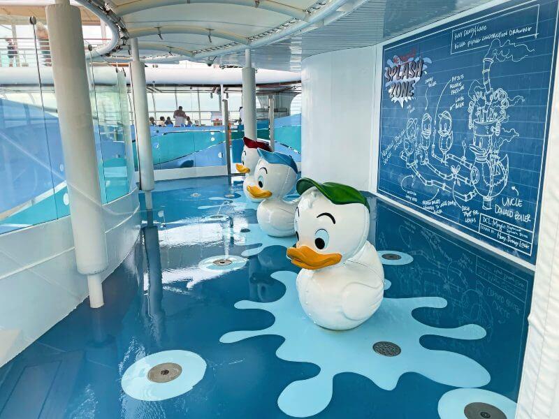 Nephew's Splash Zone on the Disney Magic