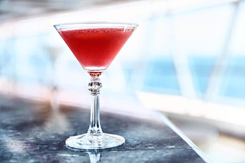 French martini cosmo