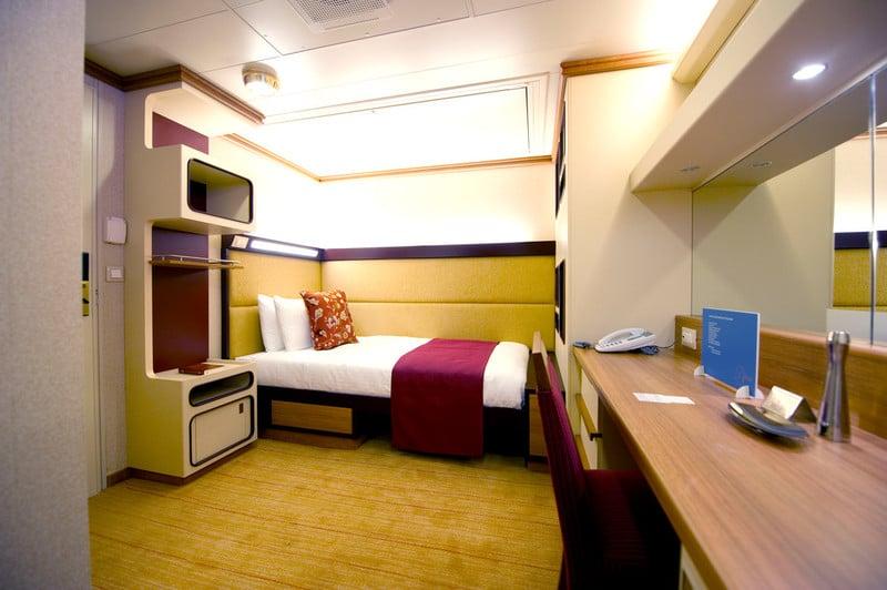 Azura single inside cabin