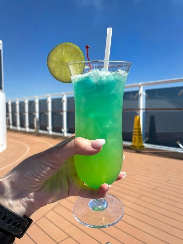 Jamaican Paradise cocktail on MSC cruise