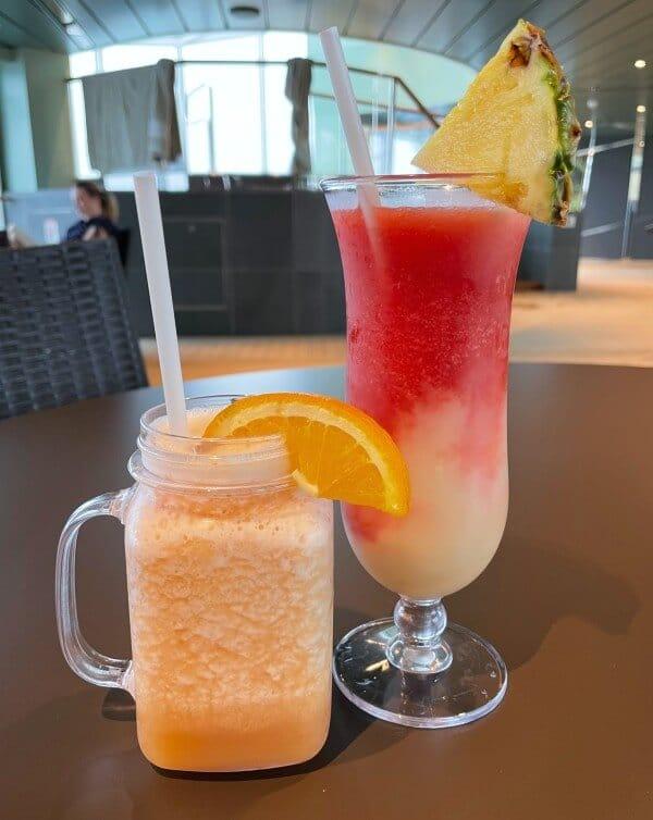 MSC Cruises cocktails