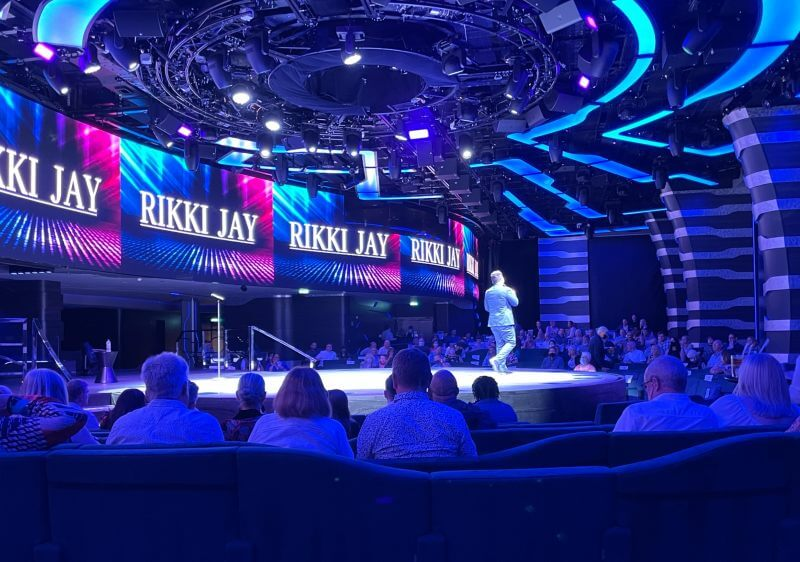 comedy show on MSC Cruises