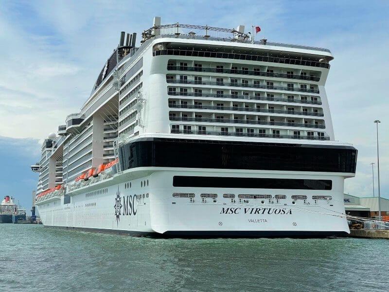 MSC Virtuosa cruise ship