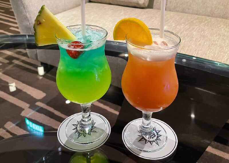 MSC Cruise cocktails