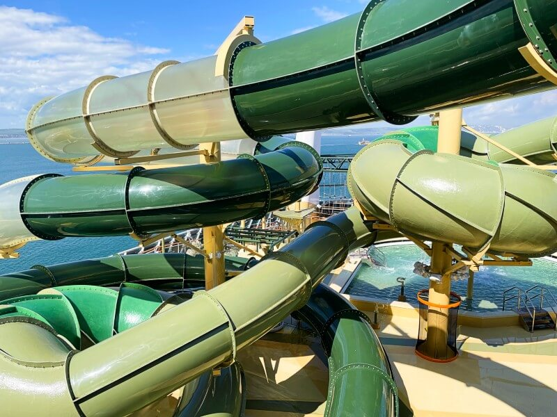 MSC Virtuosa water slide