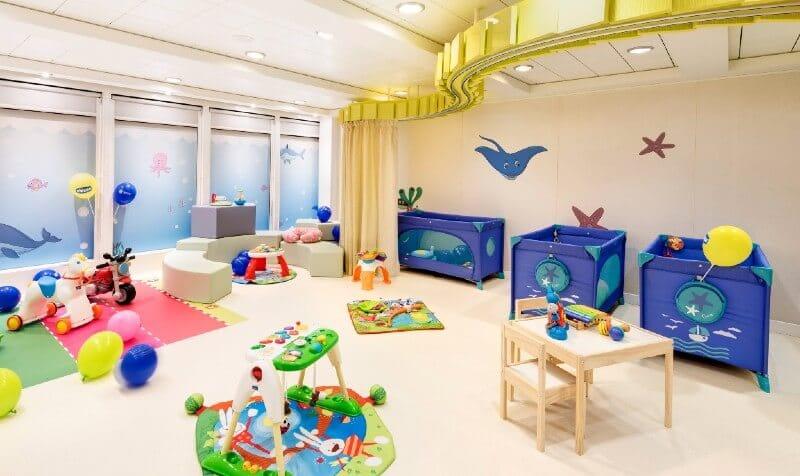 MSC Cruises baby club