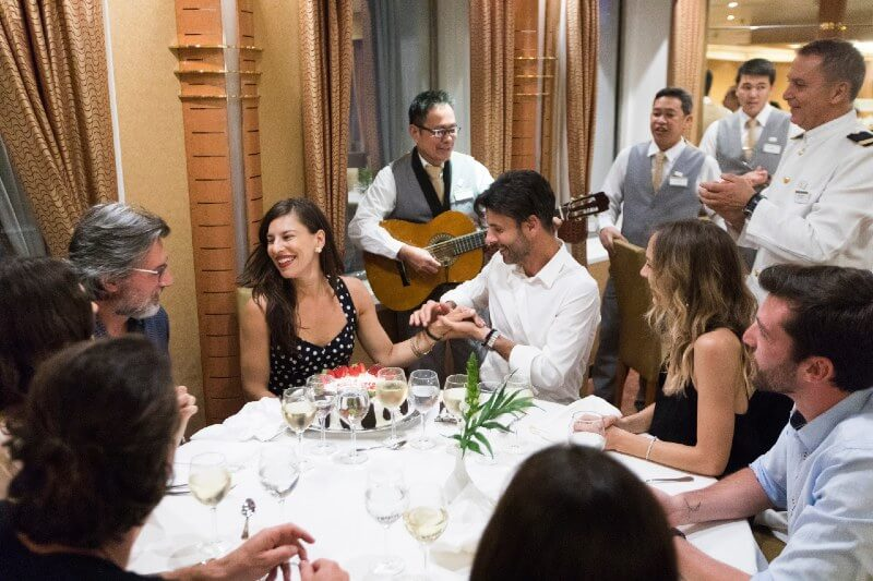 Live music in the Main Dining Room