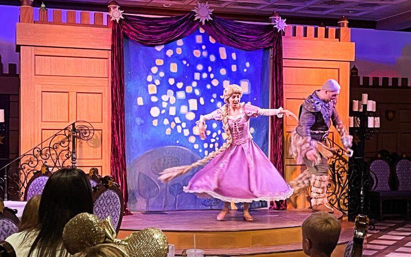 Disney Magic Rapunzel show