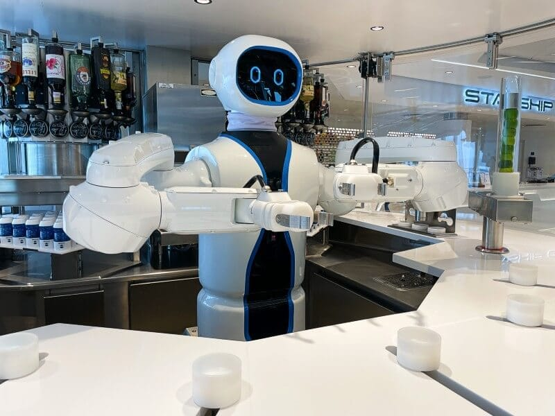 Rob Robot Bartender