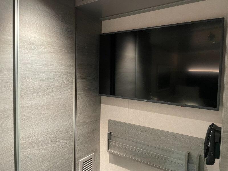 MSC Virtuosa inside cabin TV