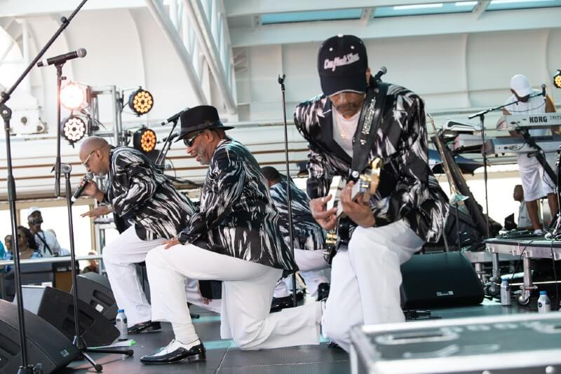 Soul music themed cruise