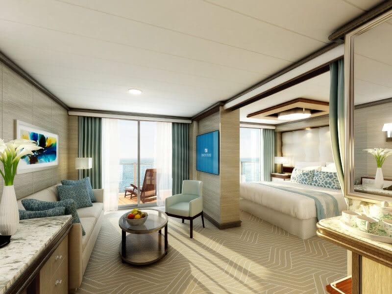 Sky Princess Penthouse Suite