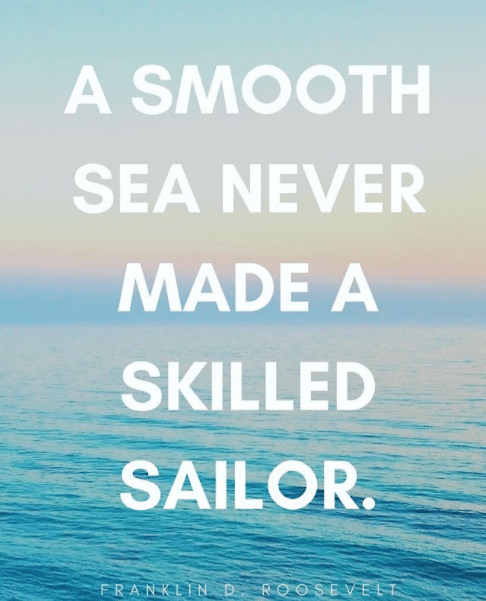 smooth sea quote