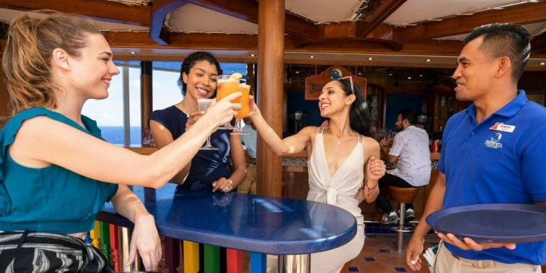 how old do you have to be to drink on a carnival cruise