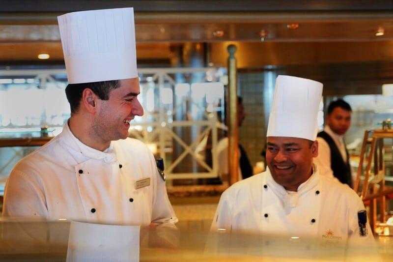 cruise ship chefs