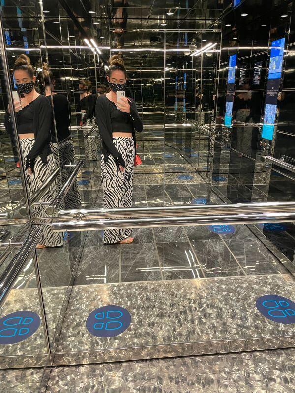 MSC Virtuosa elevator