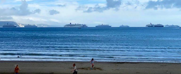 cruise ships in Torbay