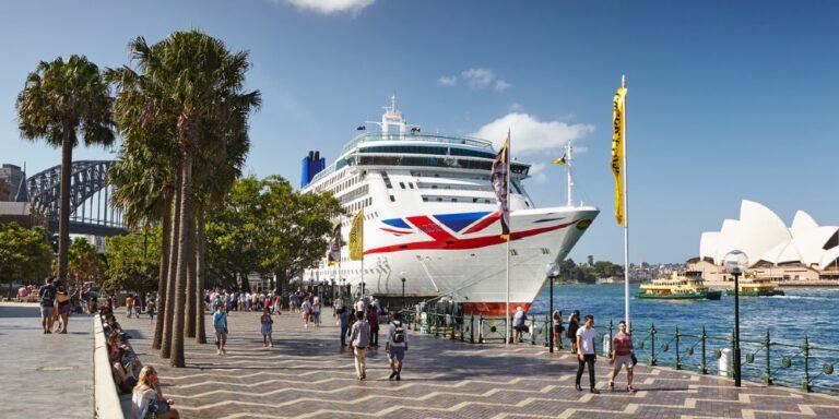 disembarking a cruise