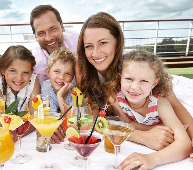 A-ROSA all-inclusive river cruise family