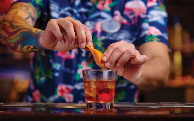 Royal Caribbean drinks