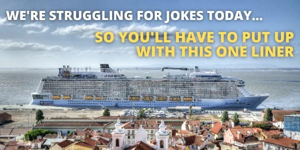 cruise one liner meme