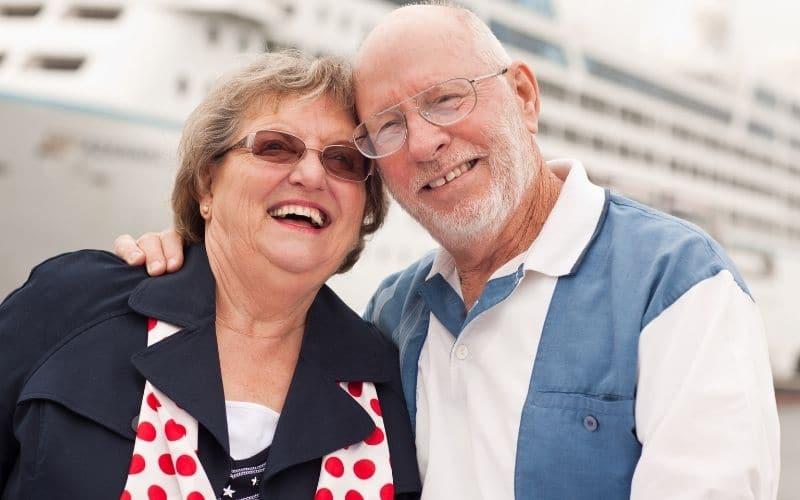 over 50s cruise