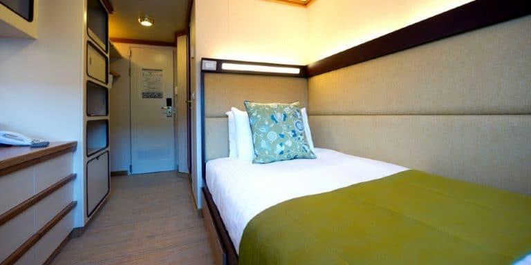 P&O Cruises single cabin